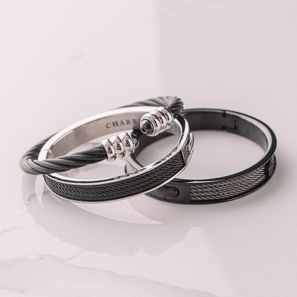 Bangle Forever Colors Charcoal