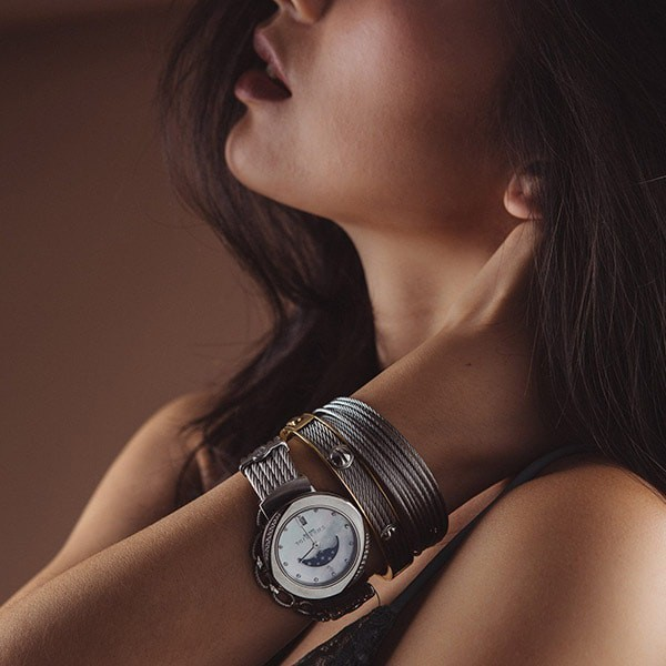 St-Tropez moonphase watch 35mm