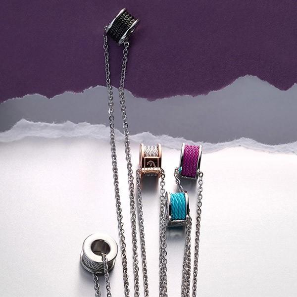Necklace Forever Colors Purple Haze