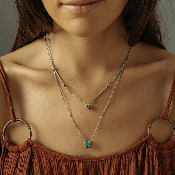 Necklace Forever Colors Turquoise