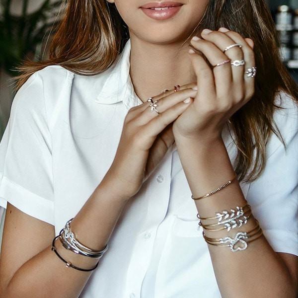 Brillant cable bracelet Charriol