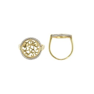 Cable ring bangle charriol forever screw