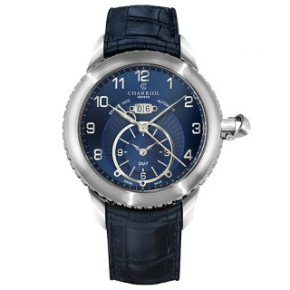 Colvmbvs Grande Date GMT watch 46 mm
