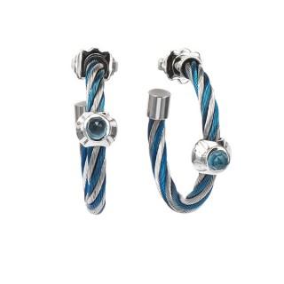 Earrings Fabulous Black Spinel