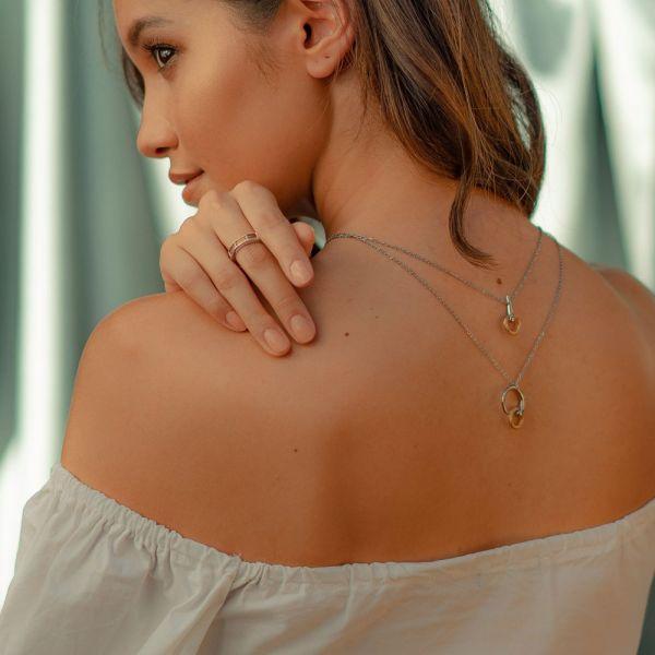 Necklace Infinity Zen