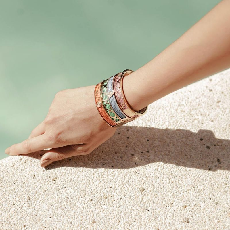 Bangle Forever Colors Pastel Green - Charriol