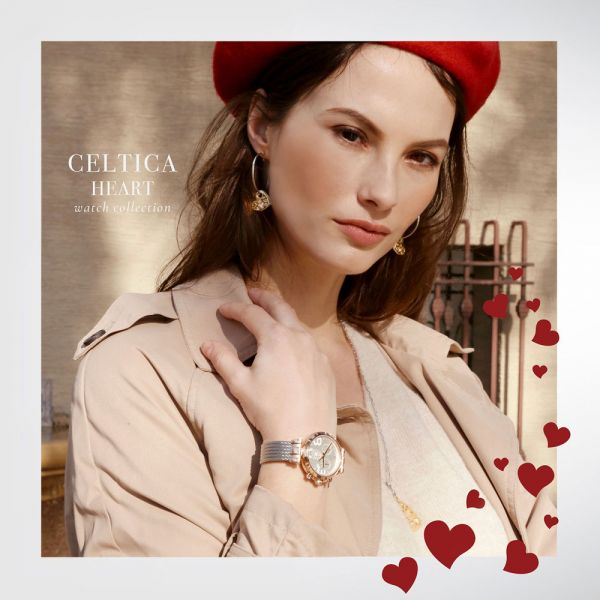 Celtica Heart Lady Chrono watch 37mm