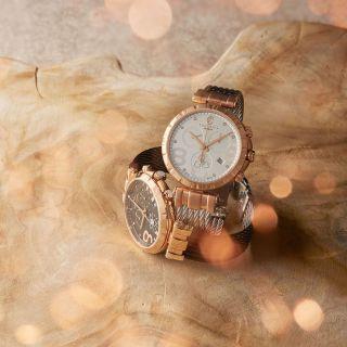St-Tropez Rhodolite watch 30 mm