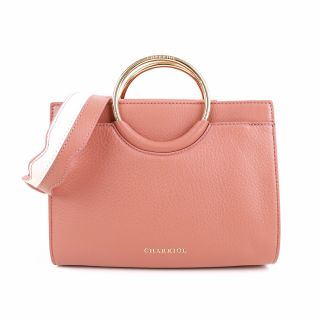 Handbag - Light Brown / Off White