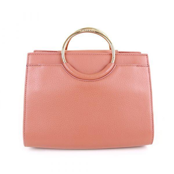 Handbag - Light Brown / Off White