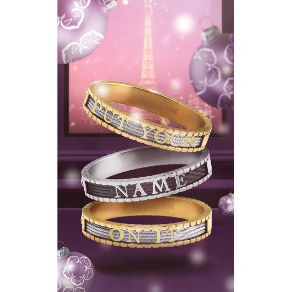 Personalized Bangle Forever