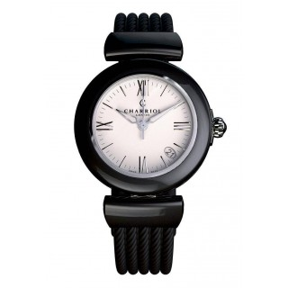 Ael watch black ceramic 33mm
