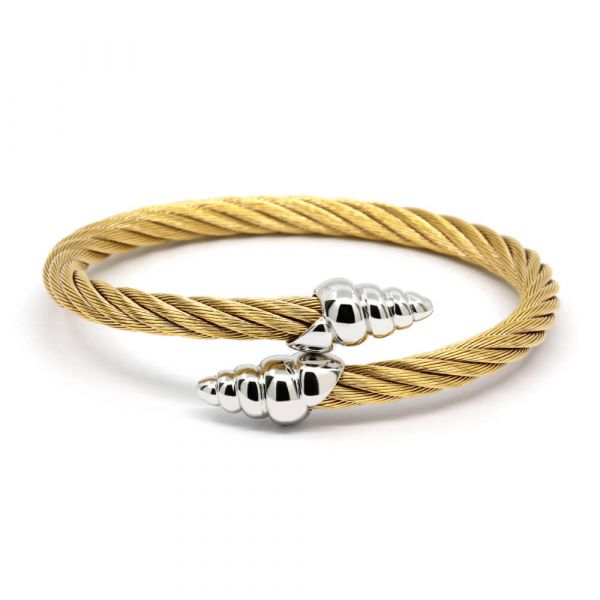 Bangle Celtic Coquille