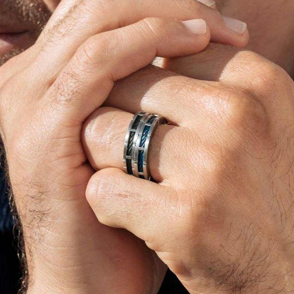 Ring Forever Slim Svart