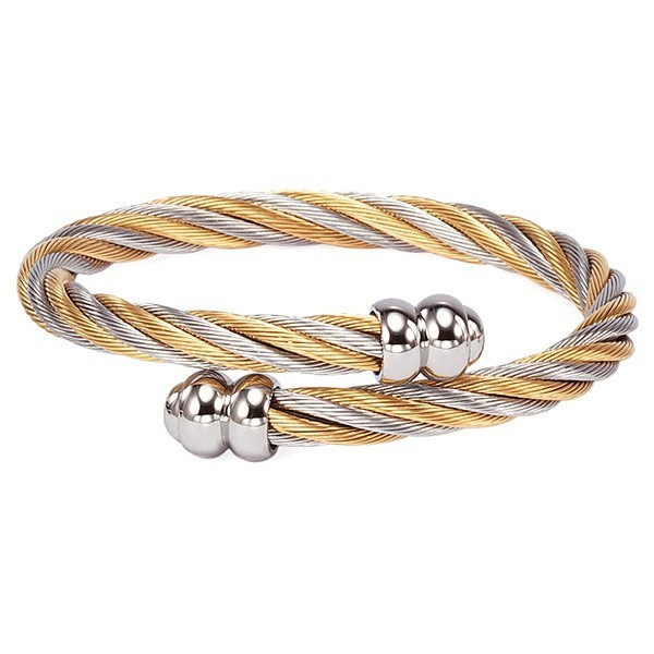 Bangle Celtic Two-tone