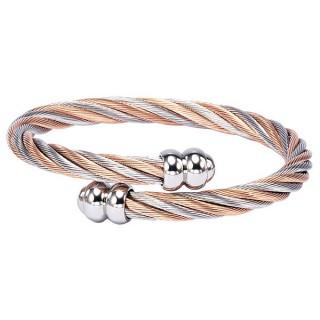 Bracelet Celtic Double Godrons