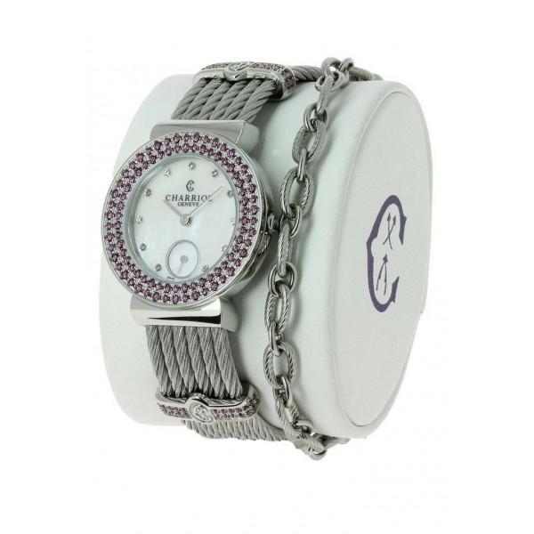 St-Tropez Rhodolite watch 30mm