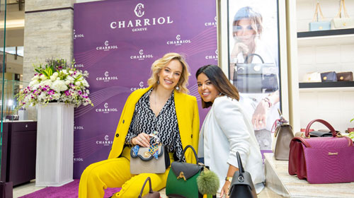 Charriol Boutique opening in Bahrain