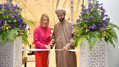 Charriol Boutique opening in Muscat, Oman