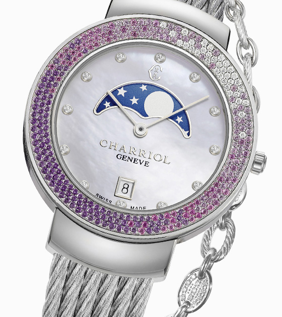 624efaea7 Charriol - Luxury Swiss Watches, Cable Jewellery, fashion ...
